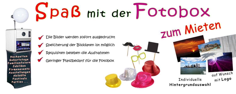 Flyer für unsere Fotobox